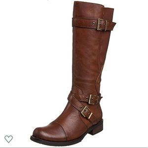 NEW Miz Mooz Brown Leather Riding Boots sz 10